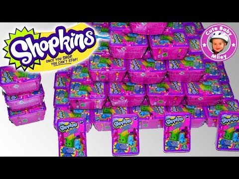 Shopkins Series 2 unboxing deutsch 6 Einkaufskörbe shopping baskets - Kinderkanal