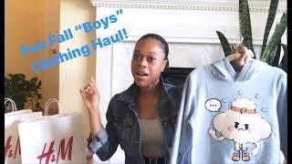 "Fun Fall ""Boys"" Fashion Haul & Styling Tips! (H&M, Zara,Target)"