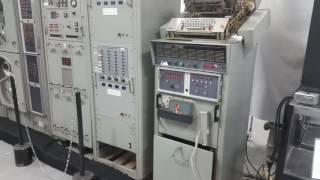 Univac 1532 Input/Output console - first power up