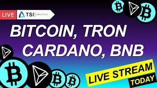 BITCOIN на низком старте! ТОП 5: BinanceCoin, Tron, Cardano(ADA) | Прогноз на Биткоин, Трон, Кардано
