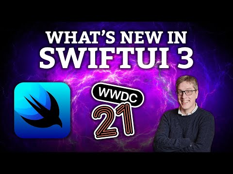 What's new in SwiftUI for iOS 15? thumbnail