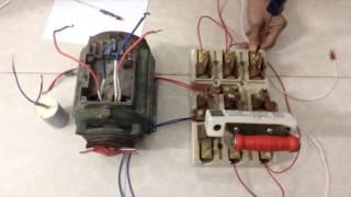 Hướng Dẫn Đảo Chiều Động Cơ (Reversible motors) 1 Pha Sử Dụng Cầu Dao Đảo 3 Pha