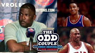 Joe Dumars - I Have Nothing But Respect for Michael Jordan