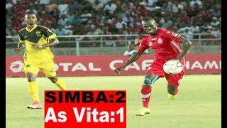 Magoli Yote SIMBA VS As Vita 2-1...Simba Kutisha Nyumbani