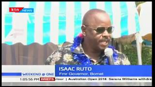 Political 'frenemies': Bomet governor Dr Joyce Laboso and Isaac Ruto vow to work together