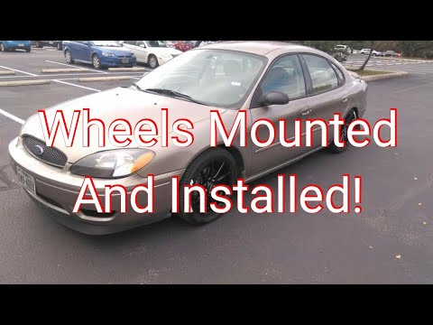 2007 Ford Taurus SE - New Wheels And Tires Installed!