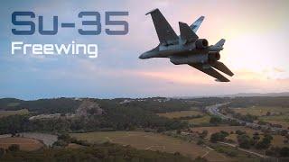 Su-35 Crazy FPV Aerial Shots!! ✈️ HD 60fps
