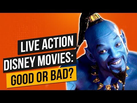 Live Action Disney Remakes: Good or Bad?