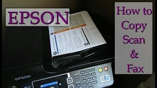 How to scan documents to your computer Epson - Самые лучшие