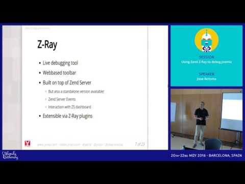JAB16 - Using Zend Z-Ray to debug Joomla