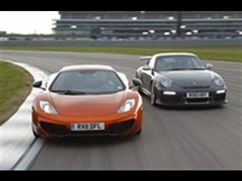 Porsche GT3 RS vs McLaren MP4-12C