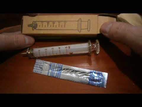 Инсулиновый шприц 0.2 отмерить