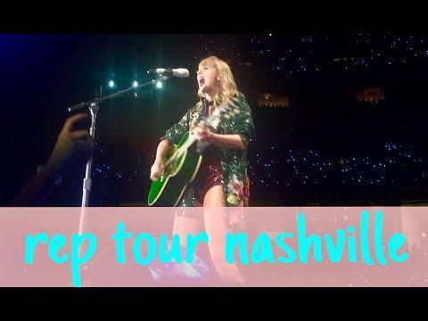 Taylor Swift reputation Stadium Tour - Nashville (VLOG)