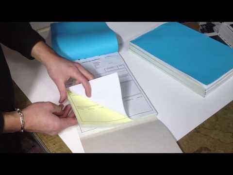 Talonarios copiativos