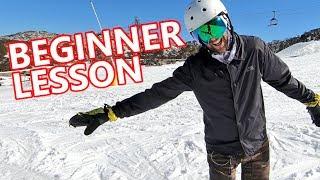 #11 Snowboard begginer – Heels, toes & straight