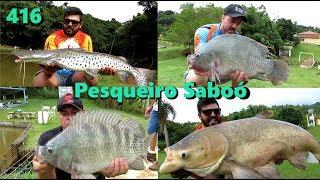 Diversão no Pesqueiro Saboó - Fishingtur na TV 416
