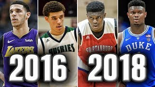 The Most Hyped High School Prospect From Each Class Over The Past 5 Years | Where Are They Now?