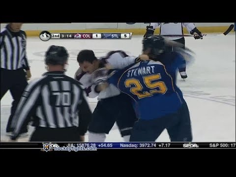 Chris Stewart vs. Cory Sarich