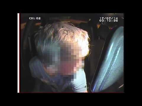 Погоня полиции за 14-летним подростком, на маминой машине