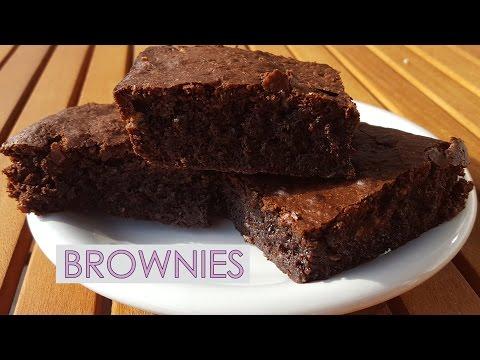 Brownies de chocolate - Paso a paso - Caseros y jugosos