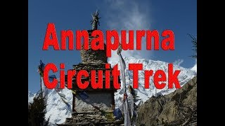 preview picture of video 'Annapurna Trek, Annapurna circuit trek 2019, trekking in Nepal, upper Mustang trek, Jomsom Trek 2019'