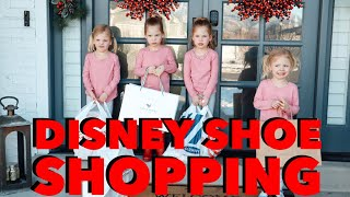 DISNEY SHOE Shopping For QUADRUPLETS Is A NIGHTMARE