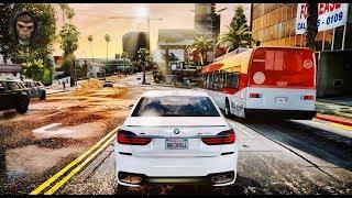 GTA 6 - NEW ULTRA REALISTIC GRAPHICS (Cars Gameplay) - GTA V PC MOD 60FPS