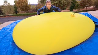 GIANT WATER BALLOON! Dropped Down Stairs! (Over 10ft)