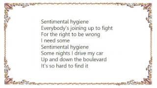 Warren Zevon - Sentimental Hygiene Lyrics