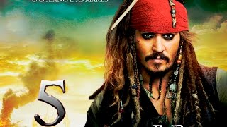 Piratas do Caribe 5 2017 -Trailer Official Full HD