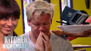 chaotic good moments that grill my salad | Kitchen Nightmares