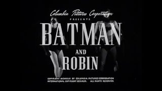 1949 Batman and Robin Movie