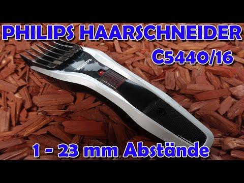 """""""PHILIPS HC5440/16 HAARSCHNEIDER - RASIEREN IN 1mm SCHRITTEN"""" -Vorstellung"""