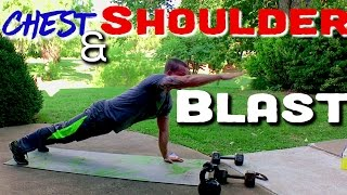 CHEST & SHOULDER Workout by Trainer Ben