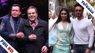 जब मिले दो Great Legend Dharmendra & Mithun Da | Tiger Shroff & Shraddha Kapoor At Dance Plus Set
