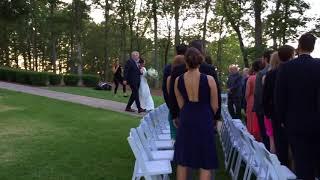 "Bridal Entrance - ""You and Me"" - Dave Matthews Band.  Classical Guitar Duo. Atlanta Wedding Band"