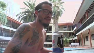 Charles Ans en entrevista con El Loco Viaje en Hermosillo.
