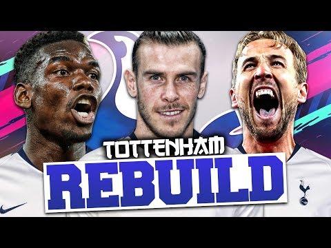 REBUILDING TOTTENHAM HOTSPUR!!! FIFA 19 Career Mode