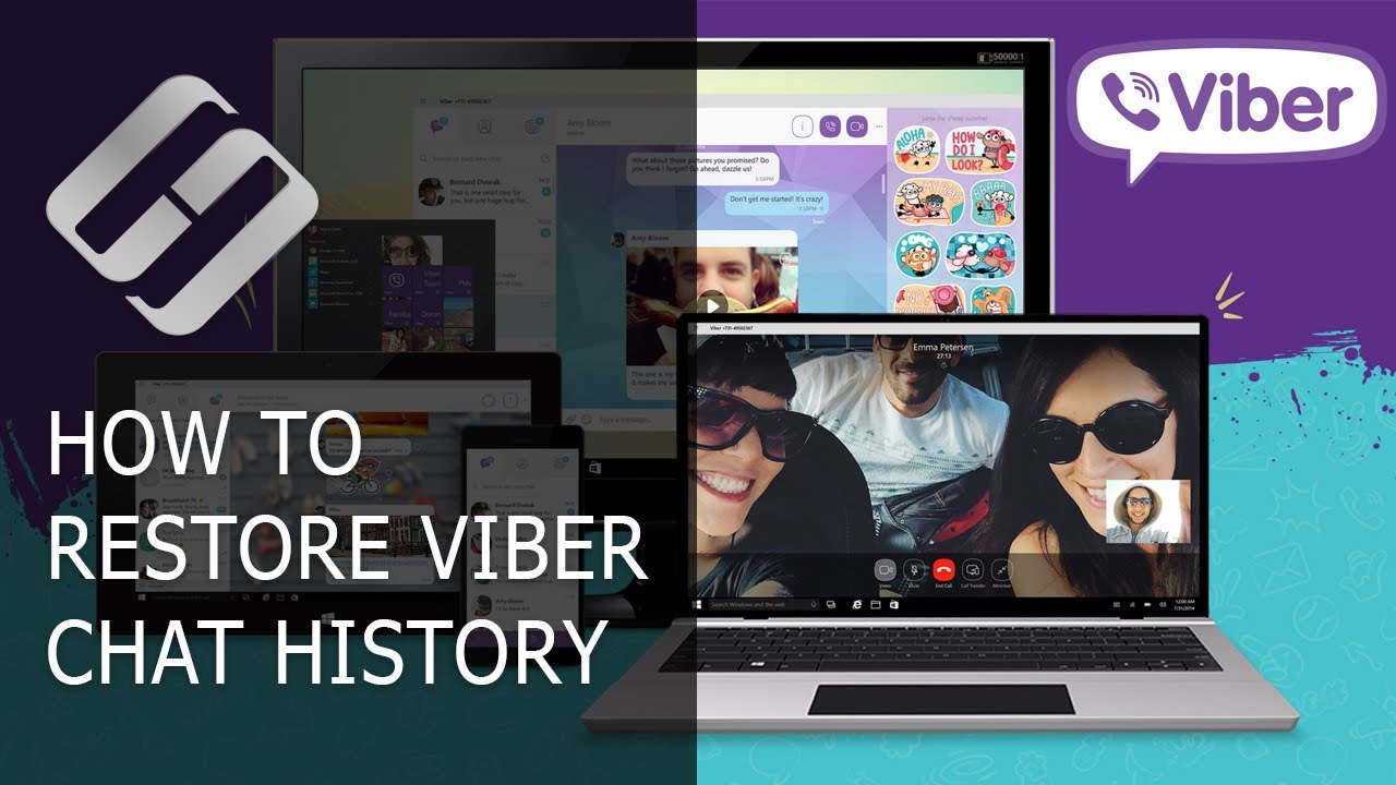 How to Restore Chat History, Contacts and Files for Viber in Android or Windows