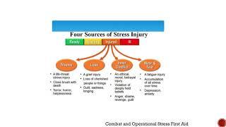 Laura McGladrey's Operation Green: Stress Injury series – VIDEO 2