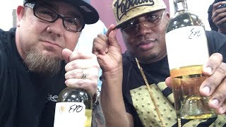 Steve Meade & E40 @ Wine Bottle Signing - Earl Stevens Selections