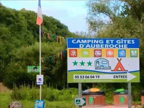 video camping dordogne camping auberoche saison 2017