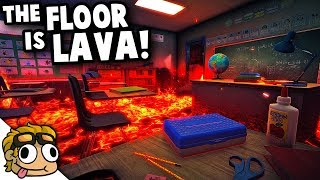 OUR HIGHSCHOOL IS FULL OF LAVA! | Hot Lava Beta Gameplay