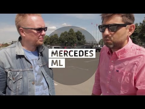 mercedes-benz ml видео