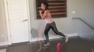 New Bodyweight Interval Workout and Fun Christmas Workout Playlist ideas!