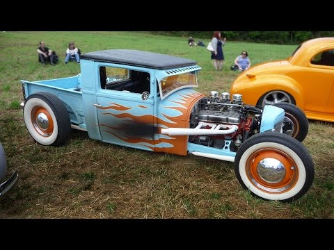 Hot rod 20eme Euronat's Avoise 2016 FRANCE
