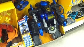 Batman toys Imaginext Target with Batcave, Batbot, Castle 2014 videos