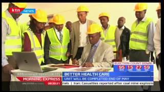 William Kabogo's last project as Kiambu County Governor