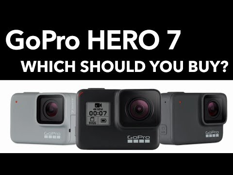 GoPro Hero 7 - Which should you buy? (Black, Silver or White)