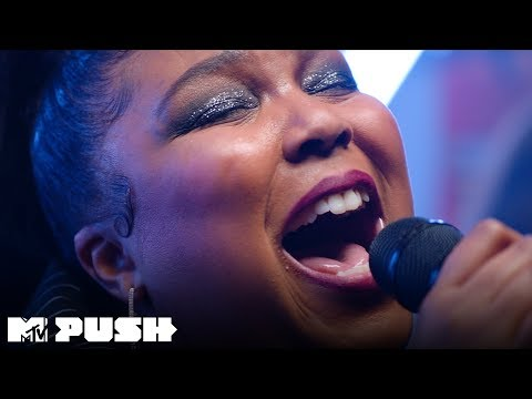 Lizzo Performs 'Cuz I Love You' (Live Performance) | MTV Push - MTV
